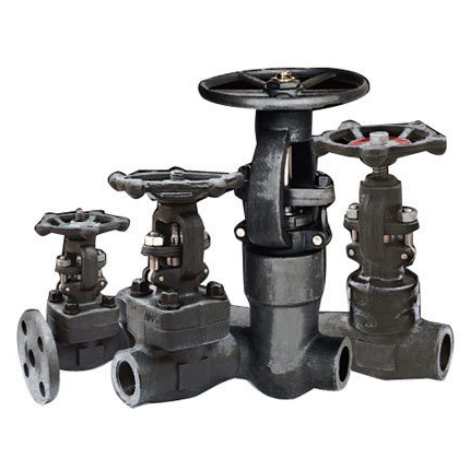 L&T FORGED STEEL GATE GLOBE VALVE